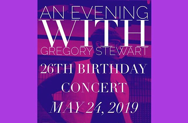 Gregory's Birthday Concert